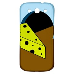 Cheese  Samsung Galaxy S3 S III Classic Hardshell Back Case