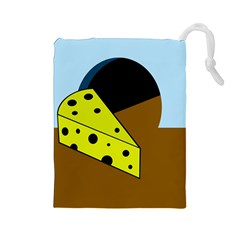 Cheese  Drawstring Pouches (Large)