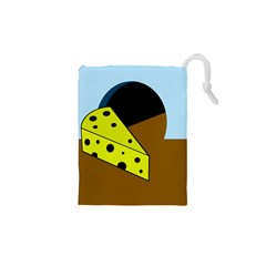 Cheese  Drawstring Pouches (xs)