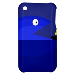Blue monster fish Apple iPhone 3G/3GS Hardshell Case