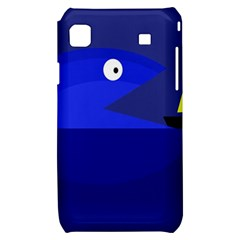Blue monster fish Samsung Galaxy S i9000 Hardshell Case