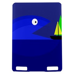 Blue monster fish Kindle Touch 3G