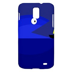 Blue monster fish Samsung Galaxy S II Skyrocket Hardshell Case