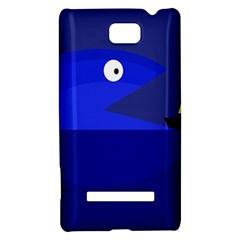 Blue monster fish HTC 8S Hardshell Case