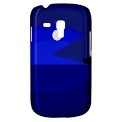 Blue monster fish Samsung Galaxy S3 MINI I8190 Hardshell Case