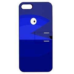 Blue monster fish Apple iPhone 5 Hardshell Case with Stand