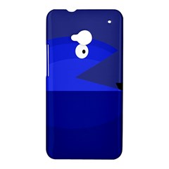 Blue monster fish HTC One M7 Hardshell Case