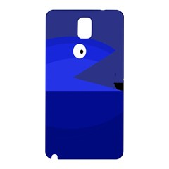Blue monster fish Samsung Galaxy Note 3 N9005 Hardshell Back Case