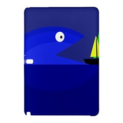 Blue monster fish Samsung Galaxy Tab Pro 10.1 Hardshell Case