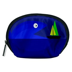 Blue monster fish Accessory Pouches (Medium)