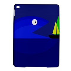 Blue monster fish iPad Air 2 Hardshell Cases