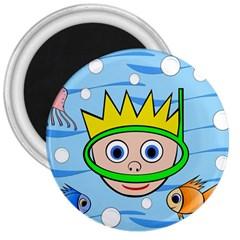 Diver 3  Magnets