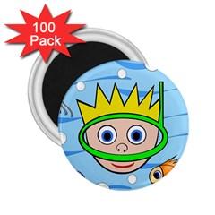 Diver 2.25  Magnets (100 pack)