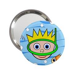 Diver 2.25  Handbag Mirrors