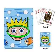 Diver Playing Card