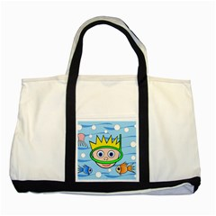Diver Two Tone Tote Bag