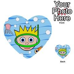 Diver Multi-purpose Cards (Heart)
