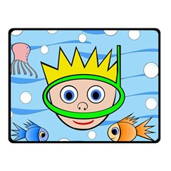 Diver Fleece Blanket (small)