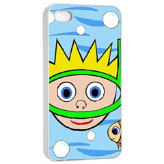 Diver Apple iPhone 4/4s Seamless Case (White)