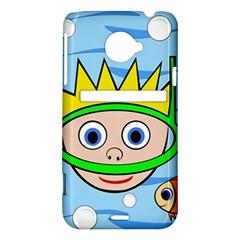 Diver HTC Evo 4G LTE Hardshell Case
