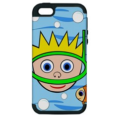 Diver Apple iPhone 5 Hardshell Case (PC+Silicone)