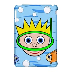 Diver Apple iPad Mini Hardshell Case (Compatible with Smart Cover)