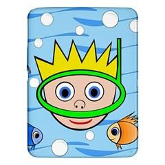 Diver Samsung Galaxy Tab 3 (10.1 ) P5200 Hardshell Case
