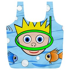 Diver Full Print Recycle Bags (L)