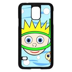 Diver Samsung Galaxy S5 Case (Black)