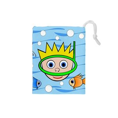 Diver Drawstring Pouches (Small)