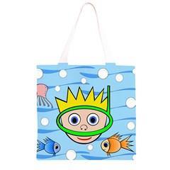 Diver Grocery Light Tote Bag
