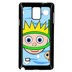 Diver Samsung Galaxy Note 4 Case (Black)