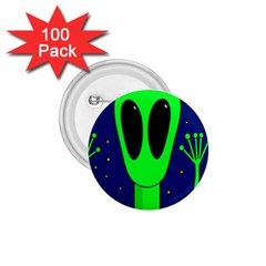 Alien  1 75  Buttons (100 Pack)