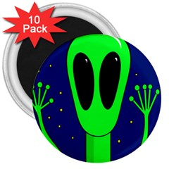Alien  3  Magnets (10 Pack)
