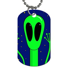 Alien  Dog Tag (one Side)