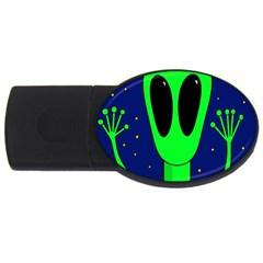 Alien  USB Flash Drive Oval (1 GB)