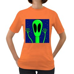 Alien  Women s Dark T Shirt