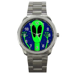 Alien  Sport Metal Watch