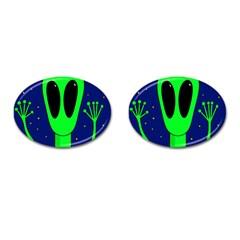 Alien  Cufflinks (oval)