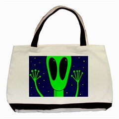 Alien  Basic Tote Bag