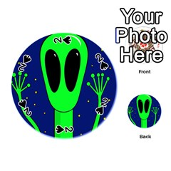Alien  Playing Cards 54 (Round)
