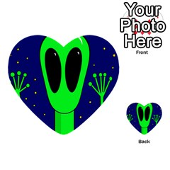 Alien  Multi-purpose Cards (Heart)