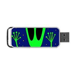 Alien  Portable USB Flash (One Side)