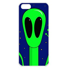 Alien  Apple iPhone 5 Seamless Case (White)