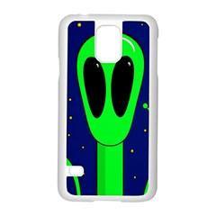 Alien  Samsung Galaxy S5 Case (White)