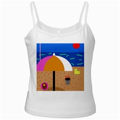 On The Beach  Ladies Camisoles
