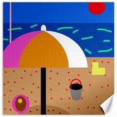 On the beach  Canvas 20  x 20
