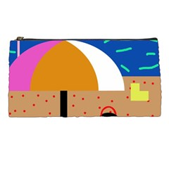 On the beach  Pencil Cases