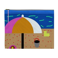 On the beach  Cosmetic Bag (XL)