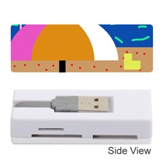 On the beach  Memory Card Reader (Stick)